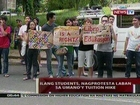 QRT: Ilang UP students, nagprotesta vs tuition hike