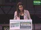 Sandrine Bélier au meeting de Strasbourg