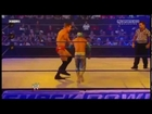 Sin Cara Finisher - La Mística [Tilt--a--whirl headscissors into single arm takedown]
