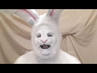 Rabbit Hood and Foam Latex Prosthetic Rabbit Mask
