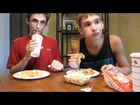 EATING FOOD BACKWARDS! (6-20-12)