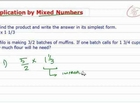 How to Multiply Fractions by Mixed Numbers