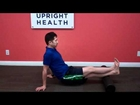 How to foam roll calf muscles