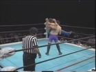 More RINGS as pro wrestling spots - Flying Headscissors
