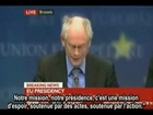 Herman Van Rompuy PDG de l'Europe for the NWO-