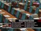 QRT: Ilang congresista, pumirma na ng waiver