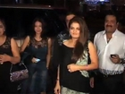 Rekha And Sonu Nigam At A Café Launch