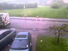 Hail Storm In Burbage, Hinckley