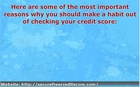 Five Reasons Why You Should Take A Free Credit Score Check