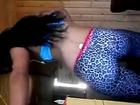 latina booty shaking