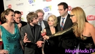 Cast of Night of the Zombie King at IAWTV Awards Red Carpet: CES 2012 Las Vegas
