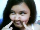 hehehe si beverly walang magawa(funny faces)