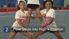 Basic Cheerleading Stunting: Moves & Thigh Stands