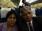 Hari & Aruna Sharma from Arlanda to Helsinki by Finn Air flight on 30.12.2011
