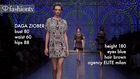 Daga Ziober, Top Model at Spring 2012 Fashion Week | FTV
