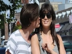 Matt Smith and Daisy Lowe Get Touchy-Feely in L.A.