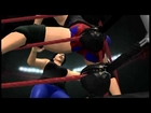 WWE'12 crotch hit on girls 3