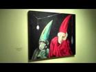 Expo de la Reseña de la Plástica de Nuevo León en la Casa de la Cultura de Nuevo León