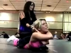 Rain vs Brooke Carter (Womens Wrestling)