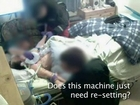 Life-support machine leaves patient brain-damaged