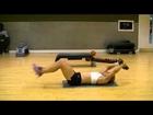 Sexy Female Bikini Abs Workout