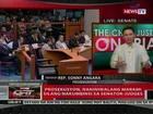QRT: Prosekusyon, naniniwalang marami silang nakumbinsi sa senator-judges