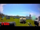 Adrenaline Paintball Outdoor - Game 1 - Ghillie Suit Sniper In Action [London, Ontario]