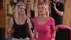 Gemma Merna In A Pink Leotard