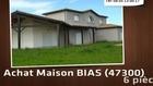 Vente - maison - BIAS (47300)  - 1 393m²
