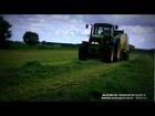 AGRO-MERKURY 2012 Prezentacja zbioru i przygotowania silosu z traw |Sianokiszonka 2012|