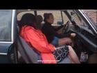 2 Girls Cranking an Old BMW 2002
