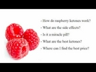 Raspberry Ketone Side Effects