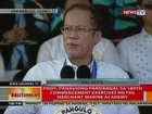 BT: PNoy, panauhing pandangal sa 189th Commencement Exercises ng PMMA sa Zambales