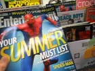 The Amazing Spider-Man New Entertainment Weekly Magazine At Wal-Mart