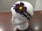 How to Crochet a Flower Headband Tutorial