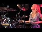 Hannah Ford - Improv Drum Solo 2011