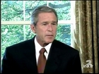 [L'année 2001 pour George W. Bush]