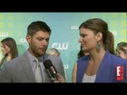 EOnline at the 2012 CW Upfront with Jensen Ackles
