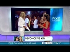 PIX News - Body Language Expert Tonya Reiman on Beyonce & Kim Kardashian (7-03-12)
