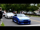 R34 Skyline on US roads revving and accelerating!!!
