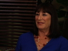 Smash _ Press Tour: Anjelica Huston