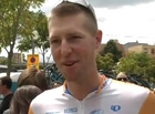 Ryder Hesjedal After Stage 3 of the 2009 Tour de France