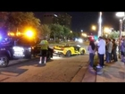 Car Crash Lamborghini LP570-4 Spyder Performante Wrecked in Houston