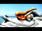 Baywatch Bikini Workout on the Jet Ski