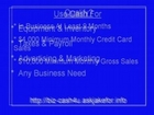 Merchant Account Advance-Retail Merchant Business Credit