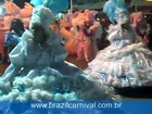 Brazil Baianas Carnival Costumes in White & Blue Dress