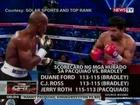 QRT: Pacquiao, bigong madepensahan ang title vs Bradley