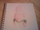 Drawing Kid Buu (Dragonball Z)
