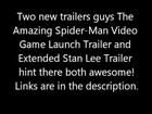 The Amazing Spider-Man Video Game New Trailers