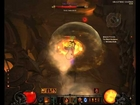 Diablo 3 Bosskill Zoltun Kulle on Inferno as barb with 1h and shield